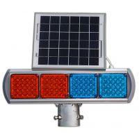 交通灯 频闪灯 双面太阳能警示灯 东家交通厂家批发