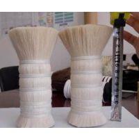 厂家供应化妆刷用山羊毛,染色羊毛,白色山羊毛