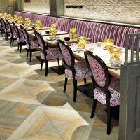 三沙市新古典餐厅桌椅酒店咖啡厅个性简约现代餐桌餐椅组合