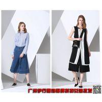 上海凯伦诗女装品牌折扣店时尚欧美风尾货库存杂款包批发