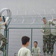 广州旋转滚筒护栏 佛山乡村道路防撞围栏 驾校热镀锌围栏板厂家直销