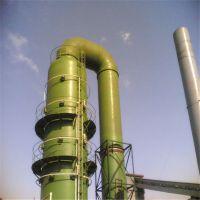 脱硫塔是对工业废气进行脱硫处理的塔式设备