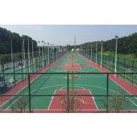 南京塑胶篮球场,硅pu网球场,丙烯酸球场施工