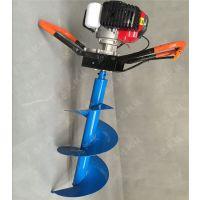 大棚种苗用挖坑机 效率高的汽油挖坑机