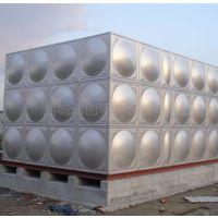 厂家定制泰州不锈钢组合水箱 循环供水设备 20吨304材质焊接水箱