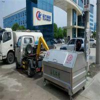 沧州绿美供应3立方垃圾箱 小型勾臂式垃圾车价格