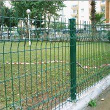 住宅小区防护网 三角折弯护栏网 铁丝围网哪里有做