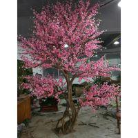 今年最流行的仿真植物大树是哪一款? 仿真新款樱花树 造型独特造工精致形态逼真