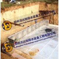 智能抗浮地埋式箱泵一体化消防泵站