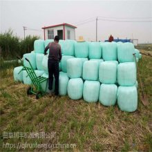晋城养牛场打捆包膜机 青贮饲料用打包机润丰