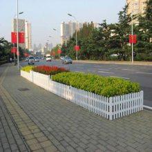 江苏泰州草坪护栏pvc宿迁市绿化带护栏花园围栏厂家