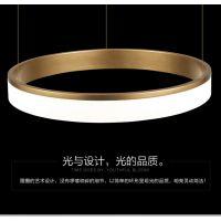 新特丽-光环系列 金彩 无限吊灯 济宁高端吊灯 现代简约led灯