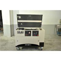 高配置10KW静音汽油发电机