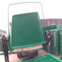 浸塑护栏网 厂区围网 绿色隔离网