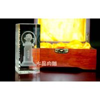 西安水晶模型十多年放心单位 水晶内雕工艺品定制 宁派立体水晶制品