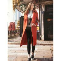 大红门服装批发市场品牌折扣女装冬品牌折扣店 正品 女装馨姿17大衣多种面料多色供选