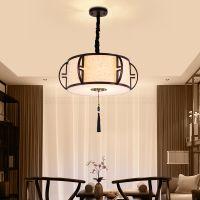 新中式吊灯餐厅仿古中国风酒店工程别墅饭店咖啡厅茶楼书房灯具