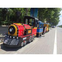 郑州智宝乐游乐设备厂家直销新款仿古无轨火车,儿童无轨小火车