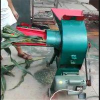 沙克龙锤片式粉碎机 宏瑞牌花生秧地瓜秧打糠机