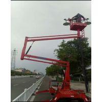 泰安曲臂式升降机维修路灯升降机升降作业平台厂家直销8米10米12米14米