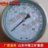 隔膜式耐震压力表,隔膜式耐震压力表参数,ZHONGMEI