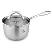 厨房用品304不锈钢健康无油烟汤复合底无涂层锅煎焖蒸煮多用不锈钢家用锅具