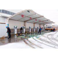 台州膜结构车棚、充电桩停车棚定制加工安装厂家