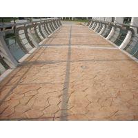 东营压模地坪彩色混凝土道路压花地坪亚斯特建材