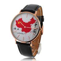 28年手表厂家稳达时 热销爱国者不锈钢石英手表