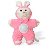 声光安抚兔子毛绒公仔安抚音乐熊婴幼儿童毛绒玩具短毛绒制作