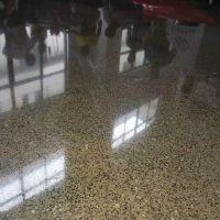 道滘镇学校旧水磨石翻新——沙田镇水磨石硬化施工——-见证好效果!