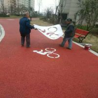 品石PES-63上海公园人行道『彩色混凝土』独特的设计理念