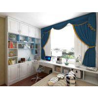 卧室飘窗柜书柜组合