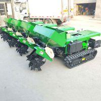 履带式开沟施肥机 自走式回填机 减轻劳动力 启航履带式开沟施肥回填机