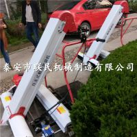 泰安联民 地面粮食装袋机 快速高效率晒场装粮机 减少人力的收谷机