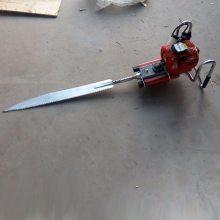 链条式汽油挖树机 园林苗木起树机 厂家直销合金钢刀头挖树机