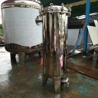 厂家供应污水处理设备专用保安过滤器精密过滤高纯直排放立式304精密过滤器滤尔水