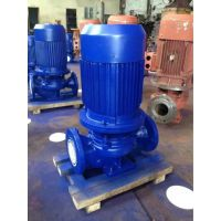 ISG65-100I 3KW 河北衡水深州市众度泵业立式热水循环增压泵 铸铁