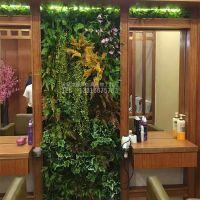 深圳绿琴厂家批发 仿真植物墙 室内外装修绿色植物环保不褪色 绢布装饰假花假叶子