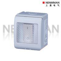 上曼电气NENMMAN 单联开关MXW-1GBS表面安装13A-250V~IP55