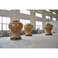 厂家定制 大型花坛玻璃钢雕塑 广场大型雕塑