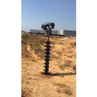 电杆钻坑机专为工程栽木杆,通信杆