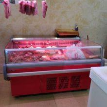 广州超市鲜肉冷藏柜的定做尺寸多少钱一米