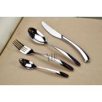银貂 201不锈钢刀叉勺 歌诗达 不锈钢西餐刀叉餐具 咖啡厅刀叉