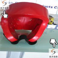 胜月供应 橡塑浸胶海绵防护头盔 跆拳道泡绵包胶护具 EVA包胶钥匙扣