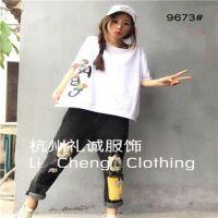 龙翔服饰城 潮牌T恤品牌折扣批发品牌折扣女装批发