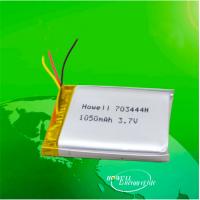 鸿伟能源703444聚合物锂电池1050mAh3.7V笔记本电脑电池生产厂家A品