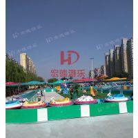 海洋漂流 户外游乐场大型趣味戏水项目花果山漂流郑州宏德游乐定制热销