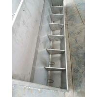 不锈钢猪槽,双面大猪槽喂料系统,双面食槽45头猪共用一台料槽