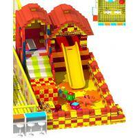 2017商场中庭新型游乐设备 epp大型积木城堡儿童乐园玩具